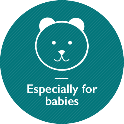 Especially for babies, link on the same page