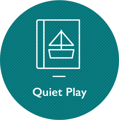 Quiet play, link on the same page