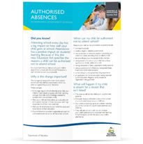 Infosheet-TeachingLearning-Authorised-Absences