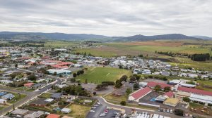 Aerial view of Sorell School
