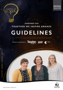 Download the Together We Inspire Awards Guidelines for 2020