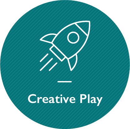 Creative play, link on the same page
