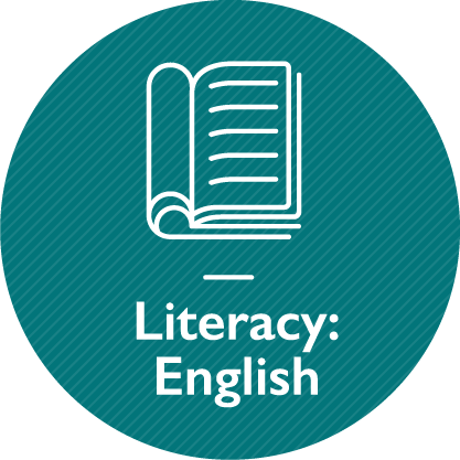 Literacy – English, link on the same page