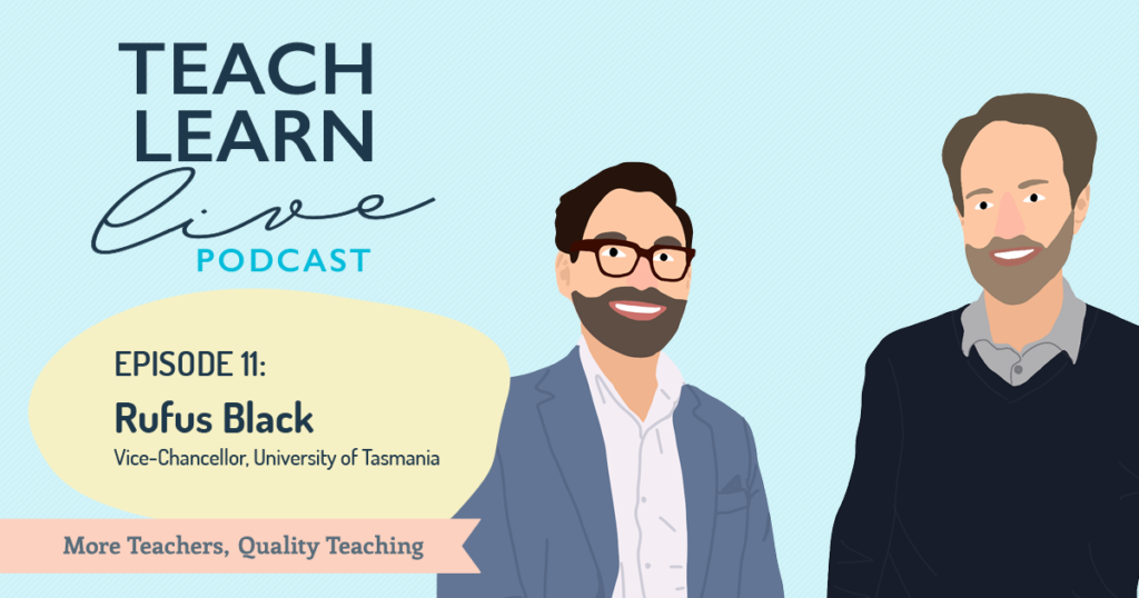 Image of Rufus Black and Tim Bullard for Teach Learn Live Podcast