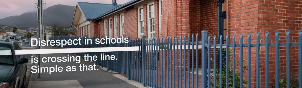 Disrespect in Schools is crossing the line. Simple as that.